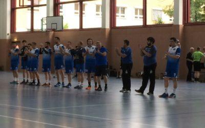 HVS-Landskron Pokal Sieg gegen HC Elbflorenz 2006 III – Perfekter Auftakt der 1. Männermannschaft